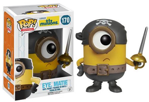 Funko Despicable Me Minions Movie POP! Animation Eye, Matie Vinyl Figure #170