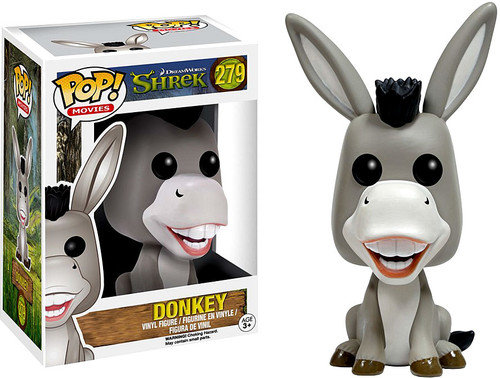Funko Shrek POP! Movies Donkey Vinyl Figure #279