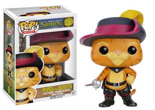 Funko Shrek POP! Movies Puss In Boots Vinyl Figure #280