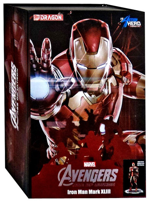 Avengers Age of Ultron Marvel Super Heroes Vignette Iron Man Mark XLIII Collectible Figure [Multi-Pose]