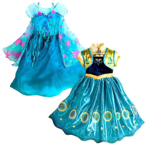 Disney Frozen Frozen Fever 2 in 1 Costume Set [Size 5/6]