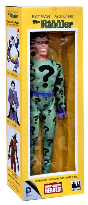 Batman World's Greatest Super Heroes Retro The Riddler Retro Action Figure