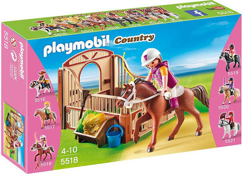 Playmobil Country Trekking Horse with Stall Set #5518