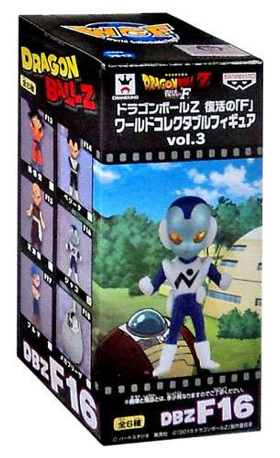 Dragon Ball Z Rebirth WCF Series 3 Jaco 2.5-Inch Collectible Figure [Resurrection of F]