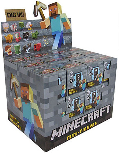 Minecraft Stone Series 2 Mystery Box [36 Packs]