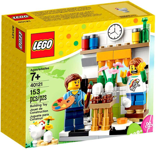 LEGO Painting Easter Eggs Set #40121