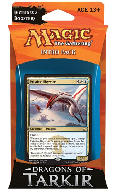 MtG Trading Card Game Dragons of Tarkir Enlightened Mastery Intro Deck