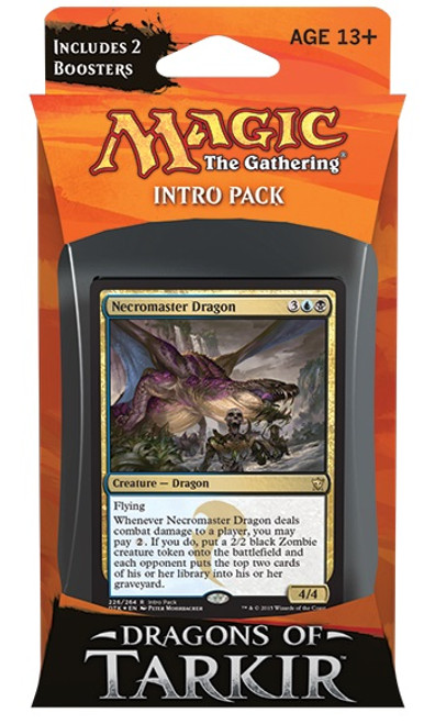 MtG Trading Card Game Dragons of Tarkir Cruel Plots Intro Deck