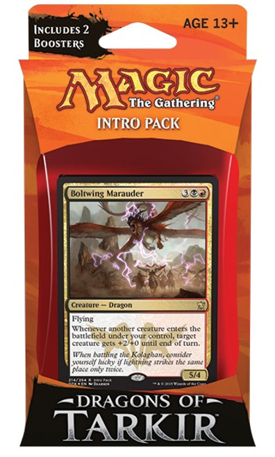 MtG Trading Card Game Dragons of Tarkir Relentless Rush Intro Deck