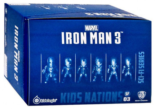 Kids Nations Sci-Fi Series Iron Man 3 Mini Figure Set [Mk I, Mk V, Mk VII, Mk XVII, Mk XXI & Mk XLII]