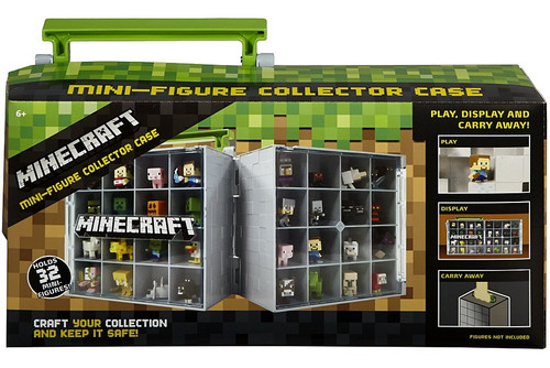 Minecraft Series 1 Grass Mini Figure Collector Case