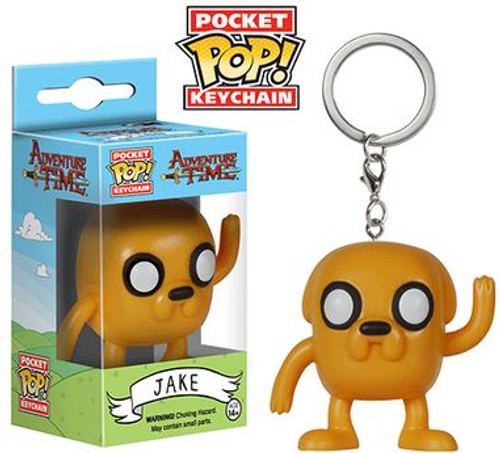 Funko Adventure Time Pocket POP! TV Jake Keychain