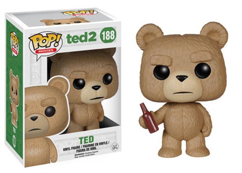 Funko Ted 2 POP! Movies Ted with Beer Vinyl Figure #188