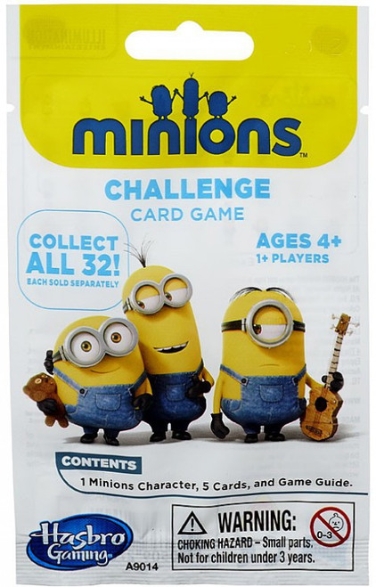 Despicable Me Minions Movie Challenge Card Game Minions Challenge Mystery Pack