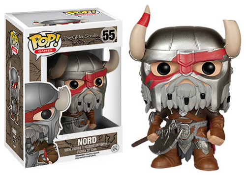 Funko The Elder Scrolls Online POP! Games Nord Vinyl Figure #55