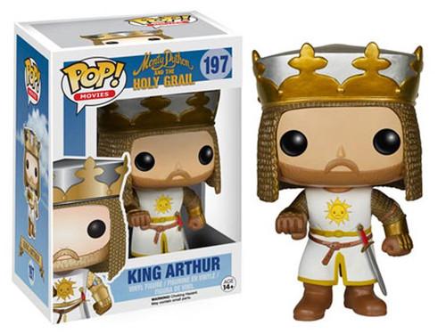 Funko Monty Python The Holy Grail POP! Movies King Arthur Vinyl Figure #197