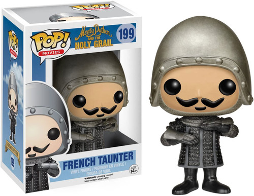 Funko Monty Python The Holy Grail POP! Movies French Taunter Vinyl Figure #199
