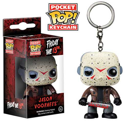 Funko Friday the 13th Pocket POP! Movies Jason Voorhees Keychain