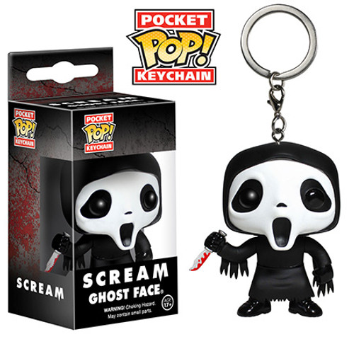 Funko Scream Pocket POP! Movies Ghost Face Keychain