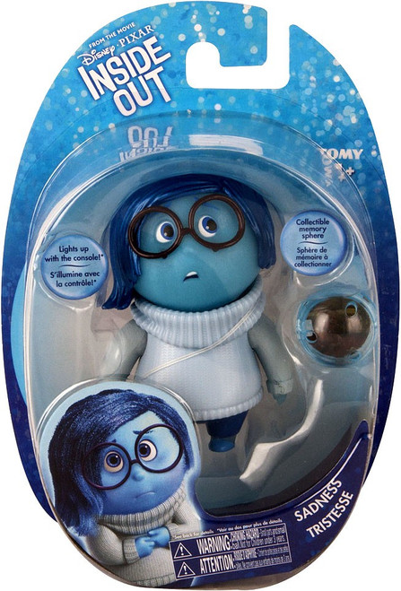Disney / Pixar Inside Out Sadness Action Figure [Memory Sphere]