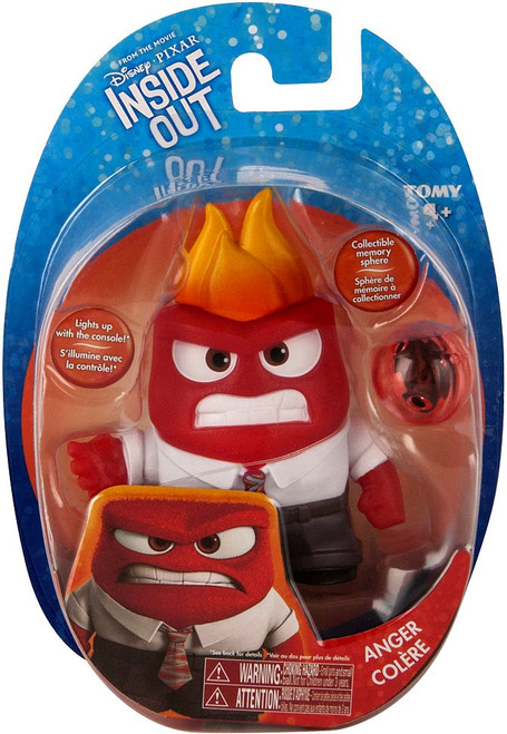 Disney / Pixar Inside Out Anger Action Figure [Memory Sphere]