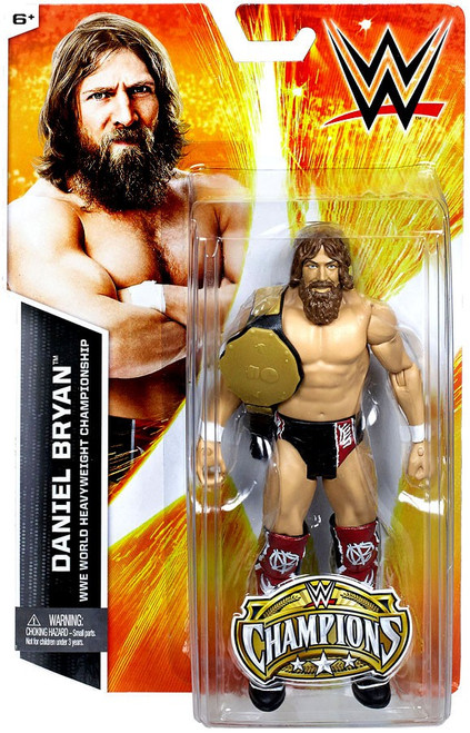 WWE Wrestling Champions Daniel Bryan Exclusive Action Figure [World Heavyweight Championship]