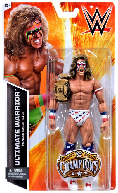 WWE Wrestling Champions Ultimate Warrior Exclusive Action Figure [Winged Eagle Title]