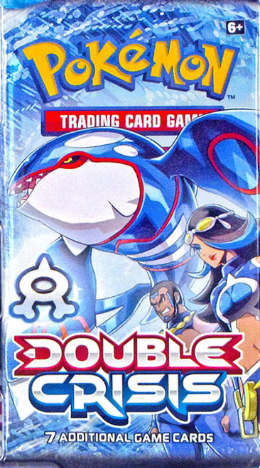 Pokemon Trading Card Game XY Double Crisis Team Aqua Booster Pack [7 Cards]