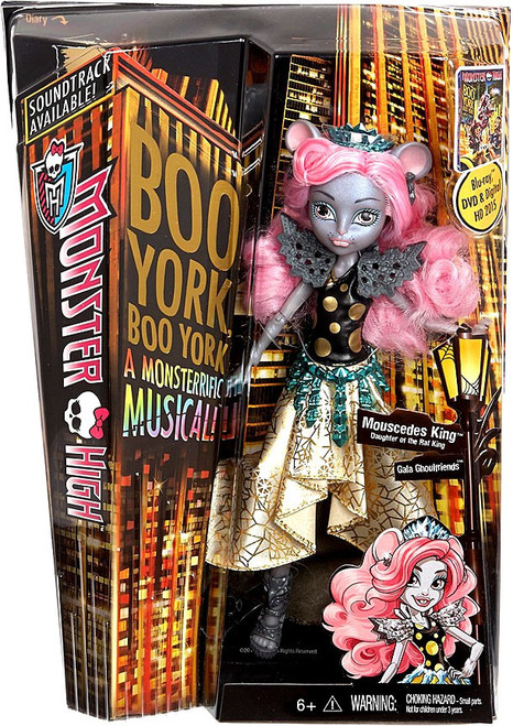 Monster High Boo York Mouscedes King 10.5-Inch Doll