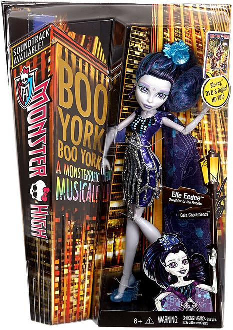 Monster High Boo York Elle Eedee 10.5-Inch Doll