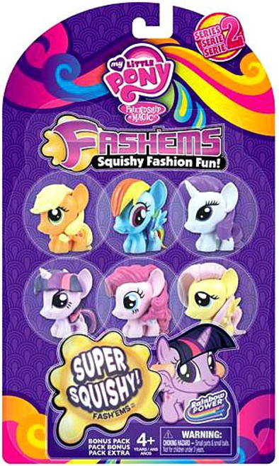 My Little Pony Fash'Ems Series 2 Mini Figure 6-Pack