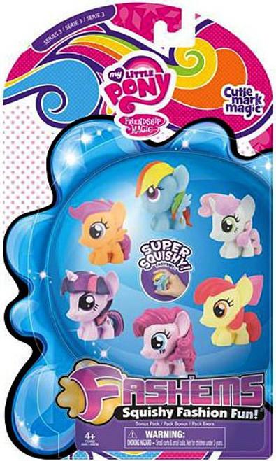 My Little Pony Fash'Ems Series 3 Mini Figure 6-Pack