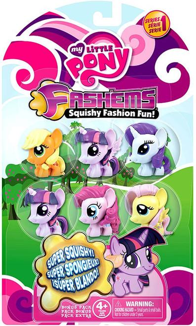 My Little Pony Fash'Ems Series 1 Mini Figure 6-Pack