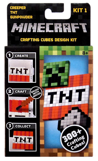 Minecraft Creeper, TNT & Gunpowder Crafting Refill Pack [Kit #1]