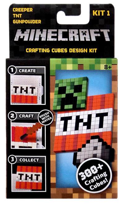 Minecraft Creeper, TNT & Gunpowder Crafting Refill Pack [Kit #1]