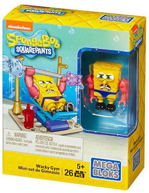 Mega Bloks Spongebob Squarepants Wacky Gym Set #38032 [with Spongebob]