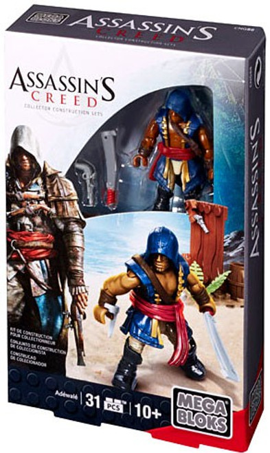 Mega Bloks Assassin's Creed Adewale Figure Set #38157