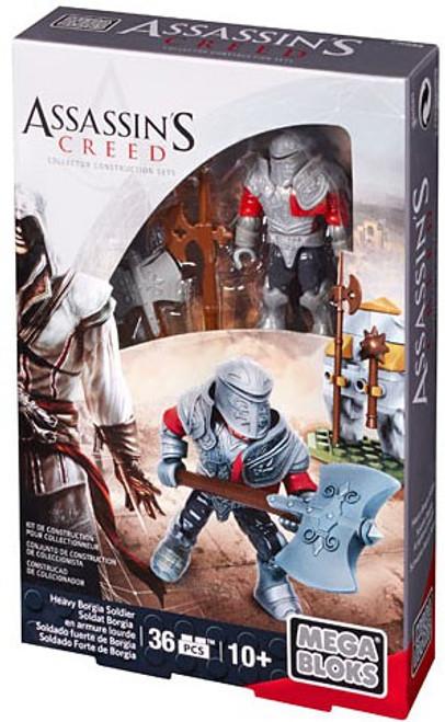 Mega Bloks Assassin's Creed Heavy Borgia Soldier Figure Set #38158