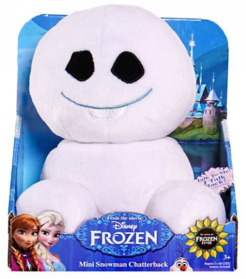 Disney Frozen Fever Snowgie Chatterback 6-Inch Plush [#1]
