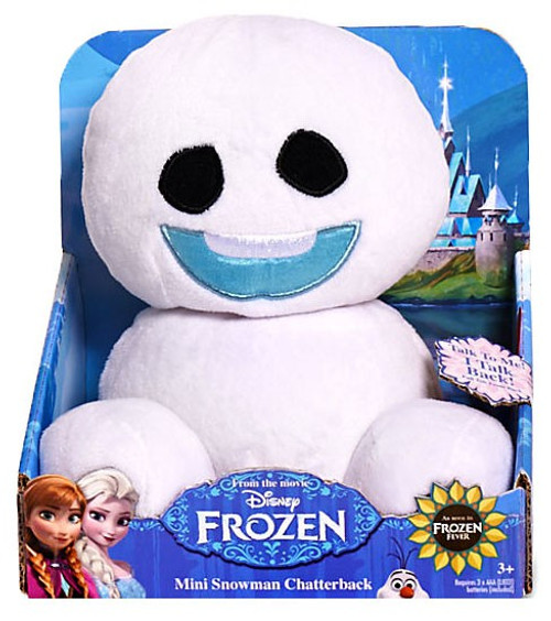 Disney Frozen Fever Snowgie Chatterback 6-Inch Plush [#2]