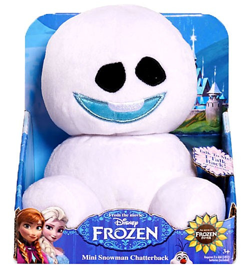 Disney Frozen Fever Snowgie Chatterback 6-Inch Plush [#3]