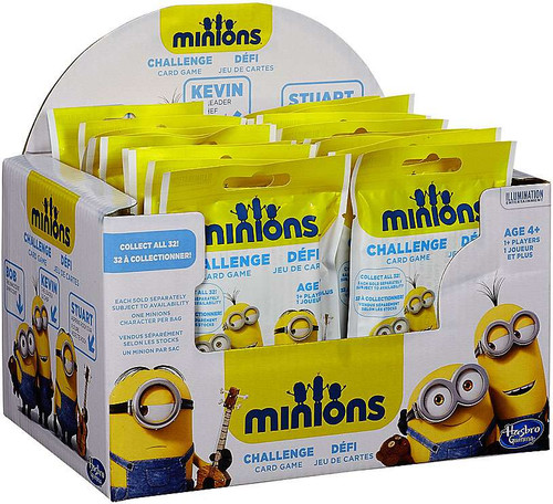 Despicable Me Minions Movie Challenge Card Game Minions Challenge Mystery Box [20 Packs]