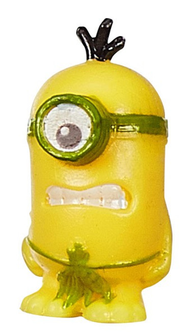 Despicable Me Minions Movie Challenge Card Game Primordial Carl 1-Inch Micro Figure #05 [Loose]
