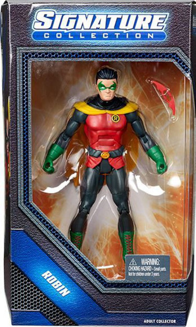 DC Universe Club Infinite Earths Signature Collection Robin Action Figure [Damian Wayne]