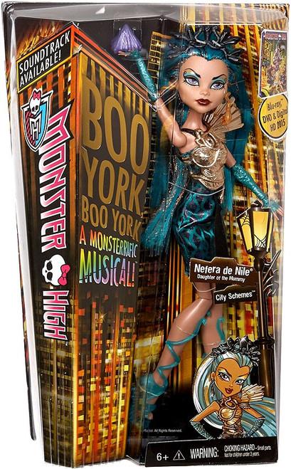 Monster High Boo York City Schemes Nefera de Nile 10.5-Inch Doll