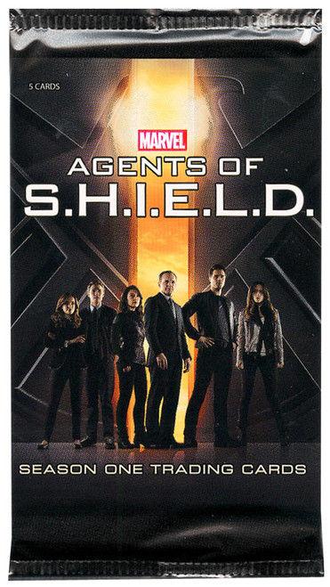 Marvel Season One Agents of S.H.I.E.L.D. Trading Card Pack