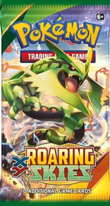 Pokemon Trading Card Game XY Roaring Skies Booster Pack [10 Cards]