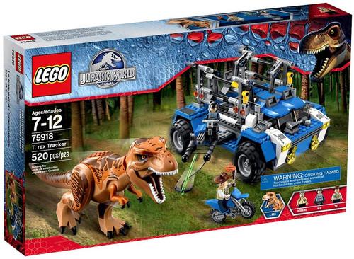 LEGO Jurassic World T. Rex Tracker Set #75918