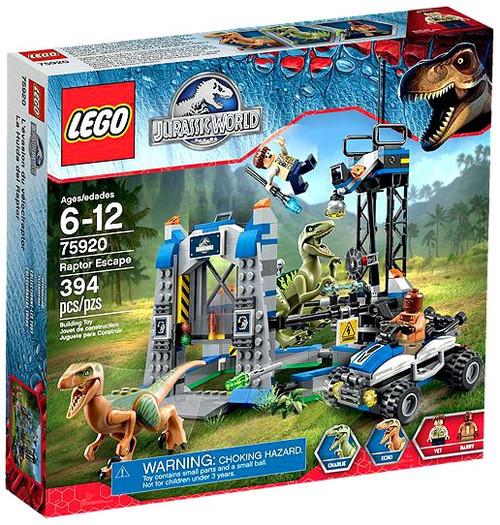 LEGO Jurassic World Raptor Escape Exclusive Set #75920