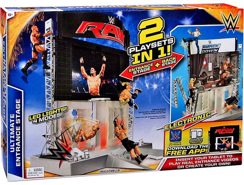 WWE Wrestling WWE Electronic Entrance Stage Playset